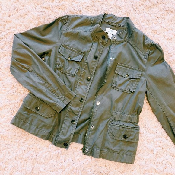 Ann Taylor Jackets & Blazers - Ann Taylor Loft Chocolate Brown Fitted Jacket